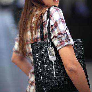 Pendentif de sécurité « ila DUSK » Bijou de style pour sacs à main. Et en cas d'urgence une alarme à portée de main.