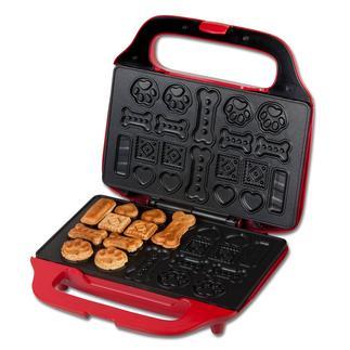 Appareil de cuisson de biscuits pour chien De délicieux biscuits pour gâter vos amis à quatre pattes. Et pour vous, le plaisir de les préparer !