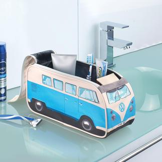 Trousse de toilette Bus VW Bulli Auparavant un minibus culte, aujourd'hui une trousse de toilette. Il vous accompagne dans tous vos voyages.