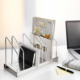 Classeur vertical Officeflexx® Poser au lieu d'empiler = trouver plus rapidement + ranger de façon plus  décorative.