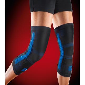 Bandage de musculation du genou PFLEXX®, lot de 2 Renforcement musculaire tout autour du genou, grâce à la force du ressort.