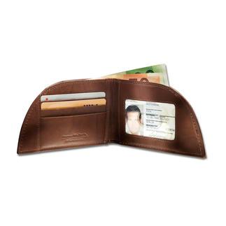 Porte-monnaie Rogue Wallet Pour la poche avant du pantalon. Forme géniale. Cuir de bison. Avec protection RFID.