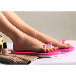 PediQuick® Pas de vernis à ongle qui bave et plus de pieds froids, tour en gardant une liberté de mouvements totale.