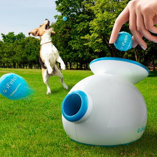 Lanceur de balles iFetch Pour intérieur/extérieur : amuse les chiens les plus infatigables en libérant un peu de temps pour son maître.