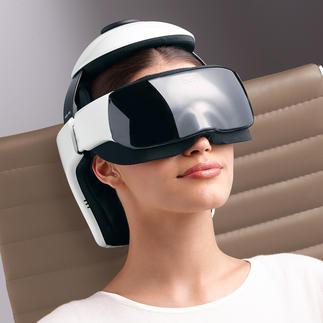 Appareil de massage pour la tête iDream3 Une combinaison ingénieuse pour un massage haute technologie de la tête, de la nuque et de la région oculaire.