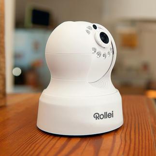Rollei Safety-Cam Outdoor ou Indoor Gardez votre demeure à l'œil. De n'importe où dans le monde. Via smartphone, tablette, PC.