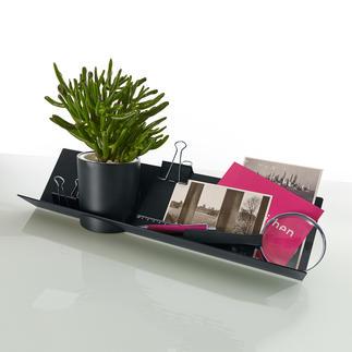 Vide-poche design avec pot de cuisine Organisateur élégant pour le bureau, la cuisine, le couloir, ...