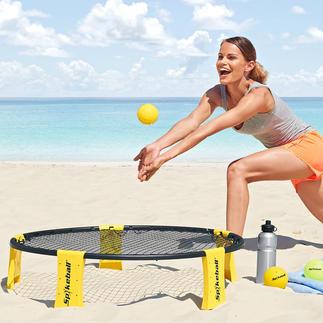 Spikeball® Plus dynamique que le beach-volley. Se pra tique n'importe où. Monté en 5 minutes.