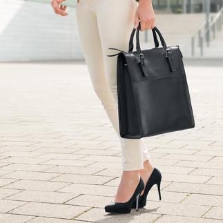 Tote Bag Oconi Luxueux Tote Bag en cuir veau fin. Signé Oconi. Pour femmes et hommes. A un prix tout à fait abordable.