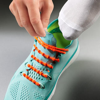 Système de laçage Xtenex Enfilez ou ôtez vos chaussures sans les lacer. Testé avec succès dans le domaine du sport professionnel.