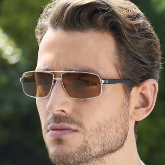 Lunettes de soleil Drivewear® Vision optimale en situation de conduite grâce à la synergie de 2 technologies :photochromique & polarisation.