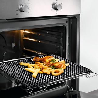 Tapis de cuisson à picots Aliments croustillants à souhait, comme sur un grill.