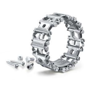 Bracelet multifonctions Leatherman® Tread™ Le bracelet multifonctions en acier inoxydable trempé. Quasi indestructible.