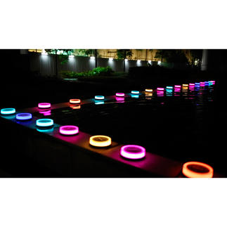 Playbulb lampe de jardin Spectacle lumineux OVNI dans votre jardin. Vous le dirigez tout simplement par Bluetooth. Technologie solaire.