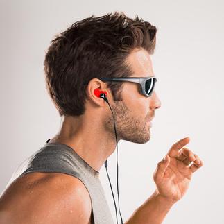 Ecouteurs silicone adaptables Double isolation du bruit. Excellente acoustique. Idéal pour la pratique du sport.