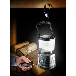 Lanterne 620 lumen avec variateur Très claire. Résolument économique. Ultra robuste. Télécommande avec lampe de poche intégrée.