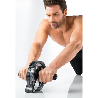Roue abdominale avec stoppeur Réédition améliorée du roue abdominale AB Roller. Un entraînement simple mais efficace,pour tous les sportifs.
