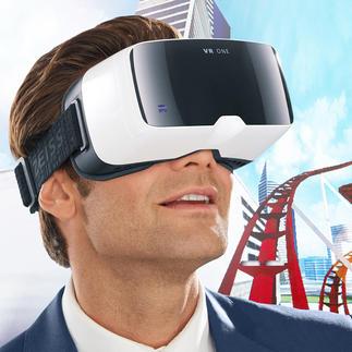 Casque ZEISS VR ONE L'expérience 3D améliorée: Headtracking et champ de vision à 100° (au lieu des habituels 45°).