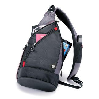 Sac en bandoulière Wenger Plus pratique qu'un sac. Plus maniable qu'un sac à dos.