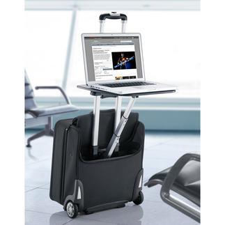 Valise trolley d'affaires Traveldesk™ Optimisez vos temps d'attente à l'aéroport tout en misant sur le confort.