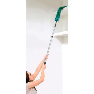 Lot de ramasse-poussière « Statikflex » Ultra flexible : parfait pour nettoyer les zones difficiles d'accès.