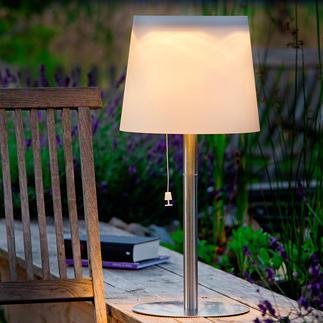 Lampes solaires Pour votre terrasse. Pas de fil. Aussi en version applique. Avec détecteur crépusculaire.
