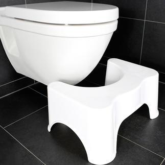 Tabouret physiologique pour toilette Vous permet d'adopter une position naturelle optimale sur les toilettes. Plus besoin de pousser.