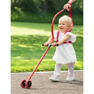 Système d'apprentissage de la marche Niniwalker® Le système d'apprentissage de la marche breveté, pour un positionnement correct des parents et de l'enfant.