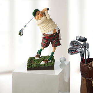 Figurine Forchino « Golfeur » L'art de mettre en image la passion du golf.