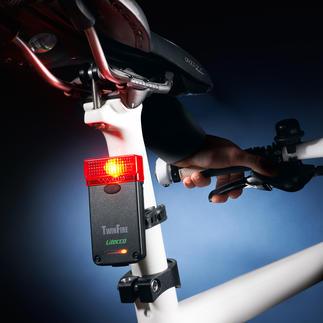 Feu arrière de bicyclette, avec feu stop Sécurité accrue pour les cyclistes. Homologué pour la circulation sur la voie publique.