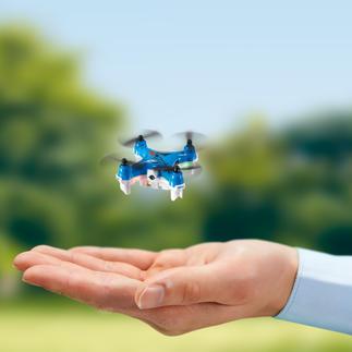 Minicoptère avec caméra L'un des plus petits drones à caméra au monde. Un véritable as du vol, même pour des cascades à 360°.