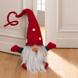 Lutin de Noël Julenisse Dans l'entree, sur les marches, dans le salon.... Egalement très décoratif pour bloquer une porte.