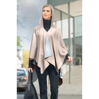 Poncho anti pluie de poche La preuve qu'une protection anti pluie peut aussi être stylée.