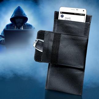 Etui écran smartphone Protège votre mobile & smartphone à 100 % contre l'accès, la localisation et la manipulation par l'extérieur.