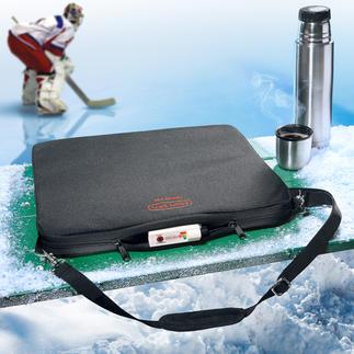 Galette de siège à batterie Jusqu'à 8 heures de chaleur. Température est réglable sur 4 niveaux. Une répartition régulière de la chaleur.