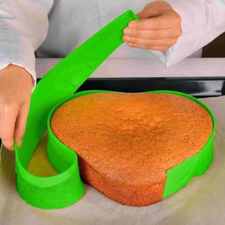 Bande silicone Free Bake Créez d'innombrables formes de gâteaux avec seulement une bande de silicone géniale.