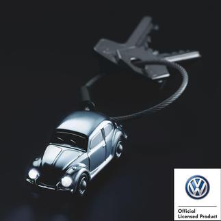 Lampe porte-clefs « Light Beetle 1964 » La légendaire voiture au format poche, avec phares puissants à DEL.