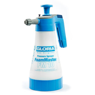 Gloria® FoamMaster Vaporisez de la mousse au lieu de frotter.