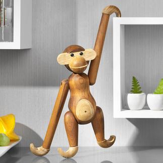 Singe Kay Bojesen Le célèbre singe en teck de Kay Bojesens au goût du jour. Composé de teck issu de plantations certifiés.