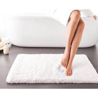 Tapis de bain « nuage » Luxe céleste : un tapis de bain léger comme un nuage, à base de mousse visco. Respirant et antibactérien.
