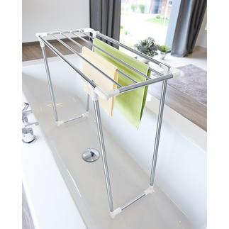 Etendoir gain de place Avec une profondeur de seulement 39 cm, il est idéal pour les petits espaces et les balcons peu profonds.