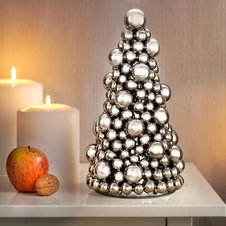 Sapin de Noël boules Décoration de Noël traditionnelle, réactualisée au goût du jour.
