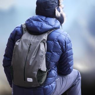 Sac à dos d'extérieur pliable Toujours à portée de main : le sac à dos repliable au format poche.