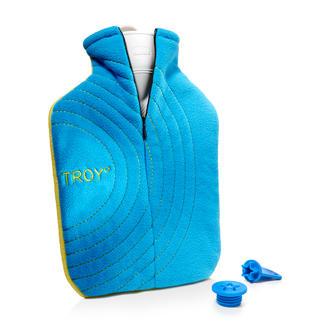 Bouillotte Troy° Plus de chaleur & sécurité contre les brûlures. Avec coussinet sel, housse de qualité & fermeture de sécurité.