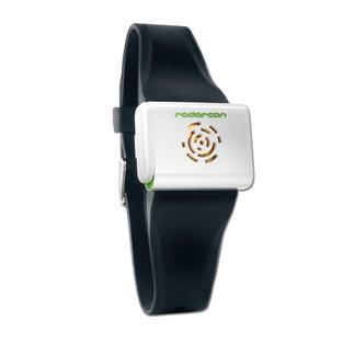 Bracelet répulsif anti-moustiques Une protection anti-moustiques mobile, à ultrasons. A porter autour du poignet.