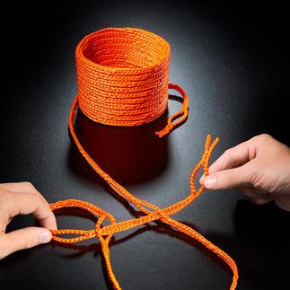Corde à boucles RunLock® Une astucieuse corde à boucles, pour en finir avec les nœuds. Un accessoire très pratique, aux 1001 utilités.