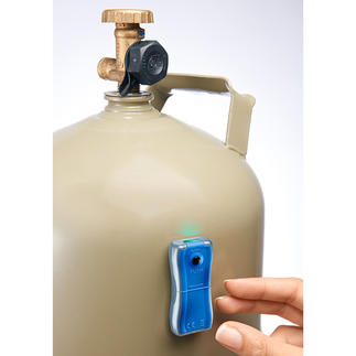 Indicateur de niveau de gaz Toujours à portée de main : indicateur de niveau précis. Affiche le niveau actuel en un instant.