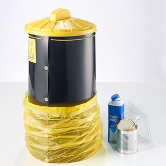 Poubelle à sacs Collectez vos déchets recyclés de manière propre, peu encombrante et parfaitement adaptée.
