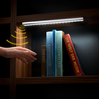 Lampe DEL à capteur fonctionnant sur batterie Astucieux : la lampe sans fil à capteur pour les armoires, tiroirs, montées d'escalier ...