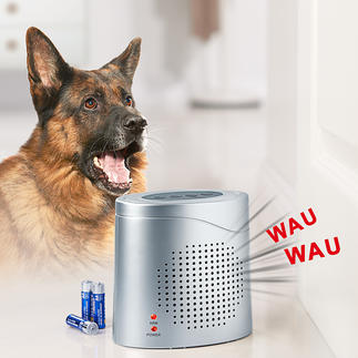 Chien de garde électronique avec capteur radar Ce chien de garde électronique  « voit » à travers les murs et les portes.